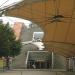 Urban-Loritz-Platz, kurz vor Ende des heutigen Weges