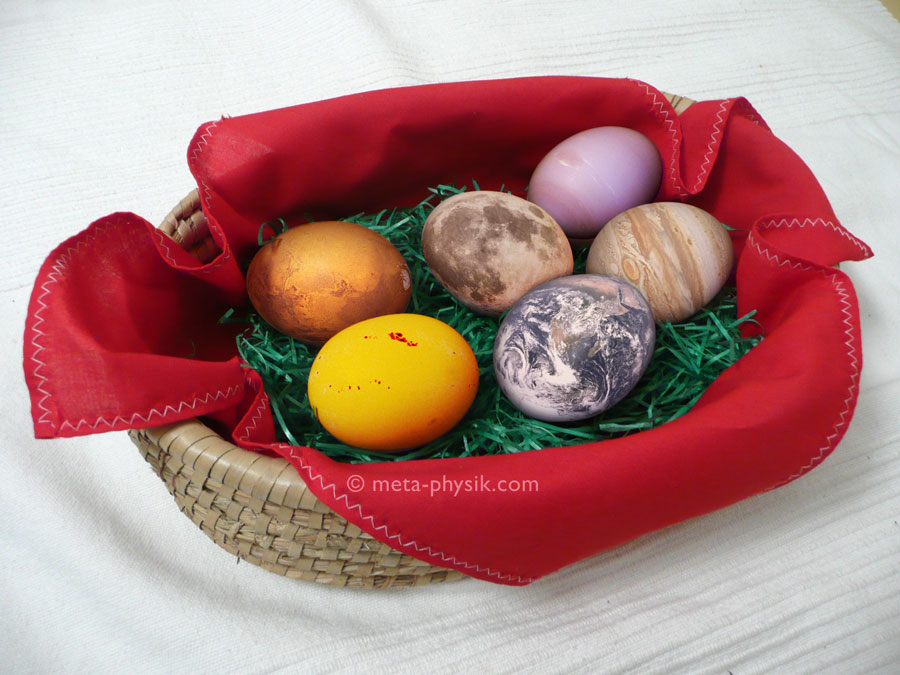 Interplanetare Ostergrüße ©meta-physik.com