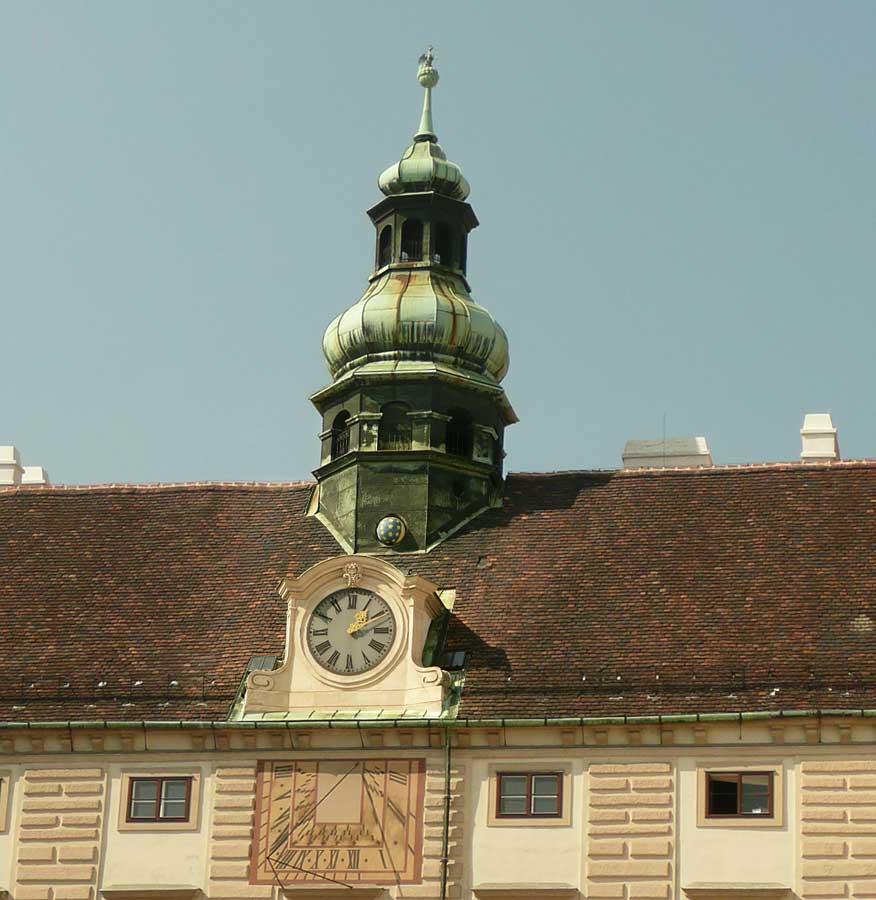 Monduhr / Amalientrakt / Hofburg