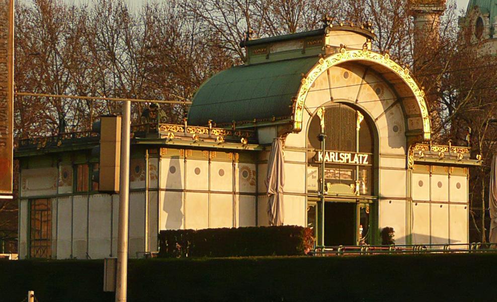 Stadtbahn / Station Karlsplatz / Otto Wagner