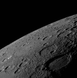 Merkur, fotografiert von MESSENGER / NASA