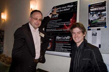 Stephan Fichtner (USM) und Sebastian Voltmer