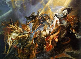 Peter Paul Rubens: Der Sturz des Phaeton