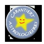 """Gütesiegel """"Garantiert astrologiefrei"""""""